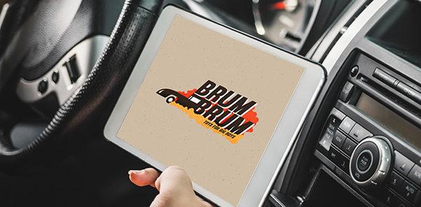 Un logo per un rivenditore di auto