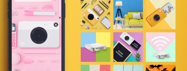 Social post per Kodak Italia