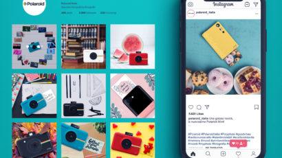 Social post per Polaroid Italia