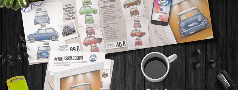 Psico design, classic mini su carta
