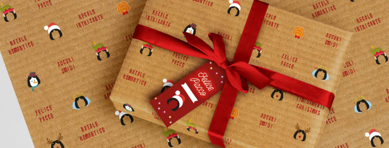 Christmas packaging per Ruggero de i Timidi!